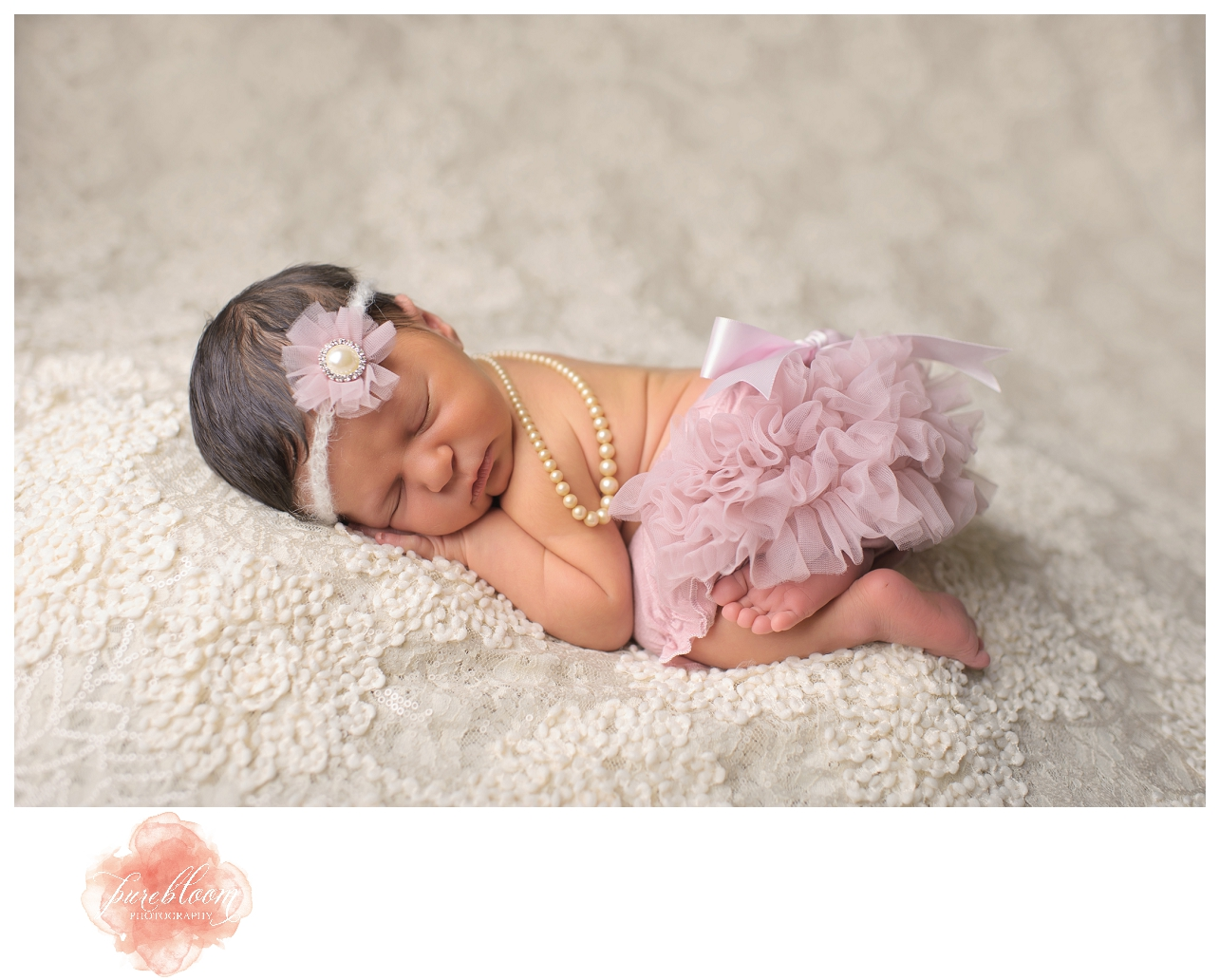 Baby Gwyneth | Tampa Newborn Photographer | Pure Bloom Photography