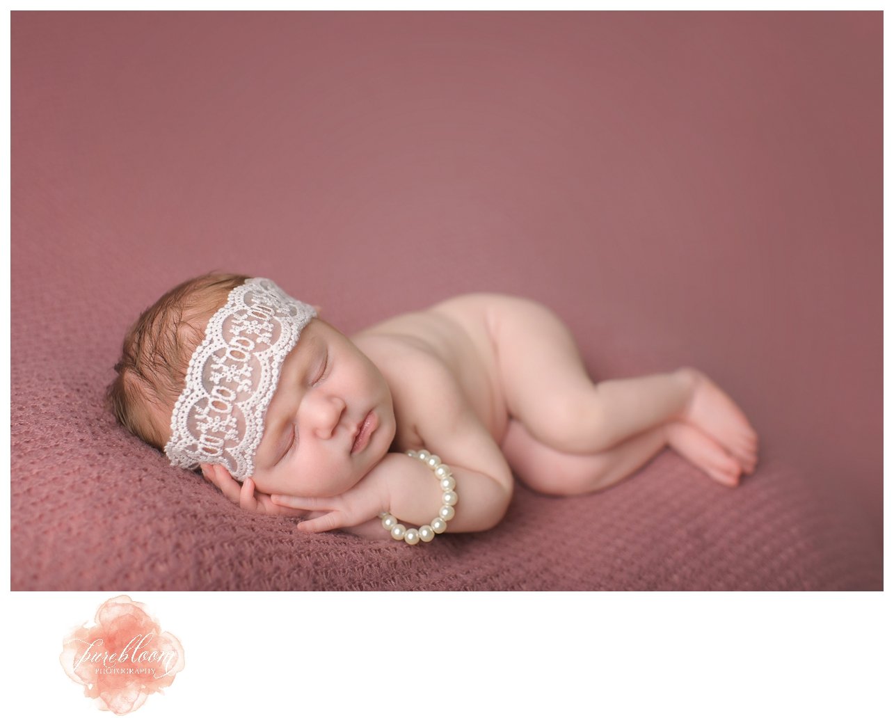 Baby Caroline | Tampa Newborn Photographer | Pure Bloom Photography