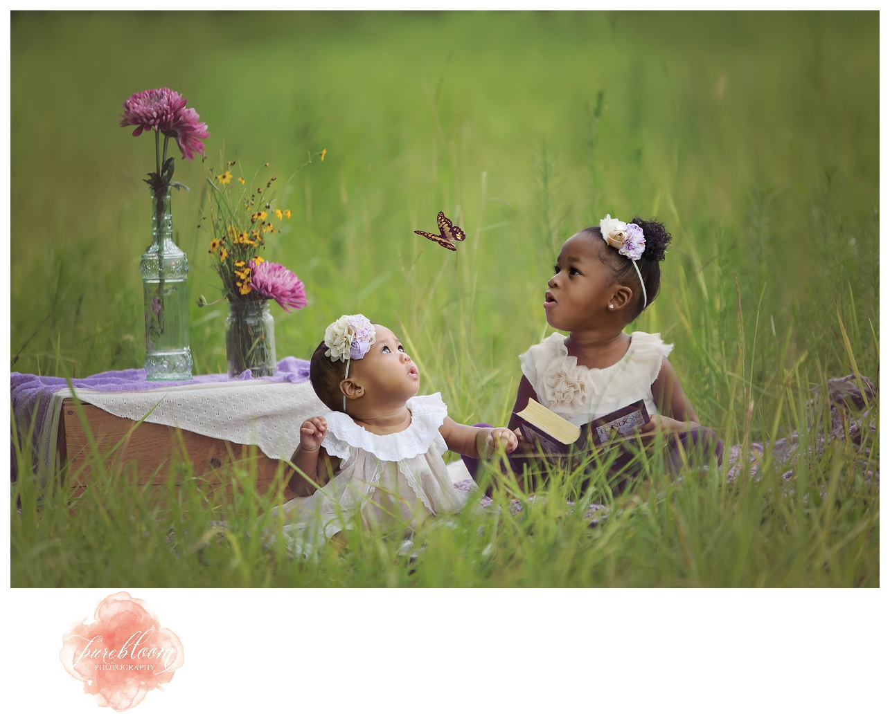 A tribute to London-Sweet Butterfly | Pure Bloom Photography | Tampa Child Photographer