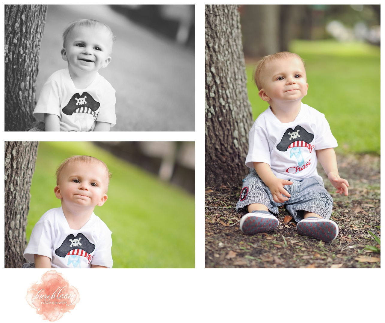 cake smash session | South Tampa Child Photographer | Pure Bloom Photography