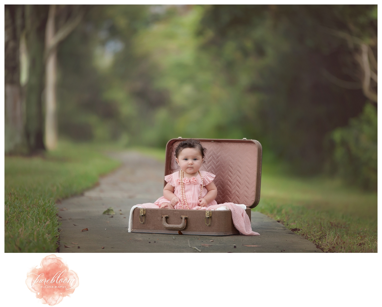 Gwyneth 6 month session | Pure Bloom Photography | Tampa Child Photographer