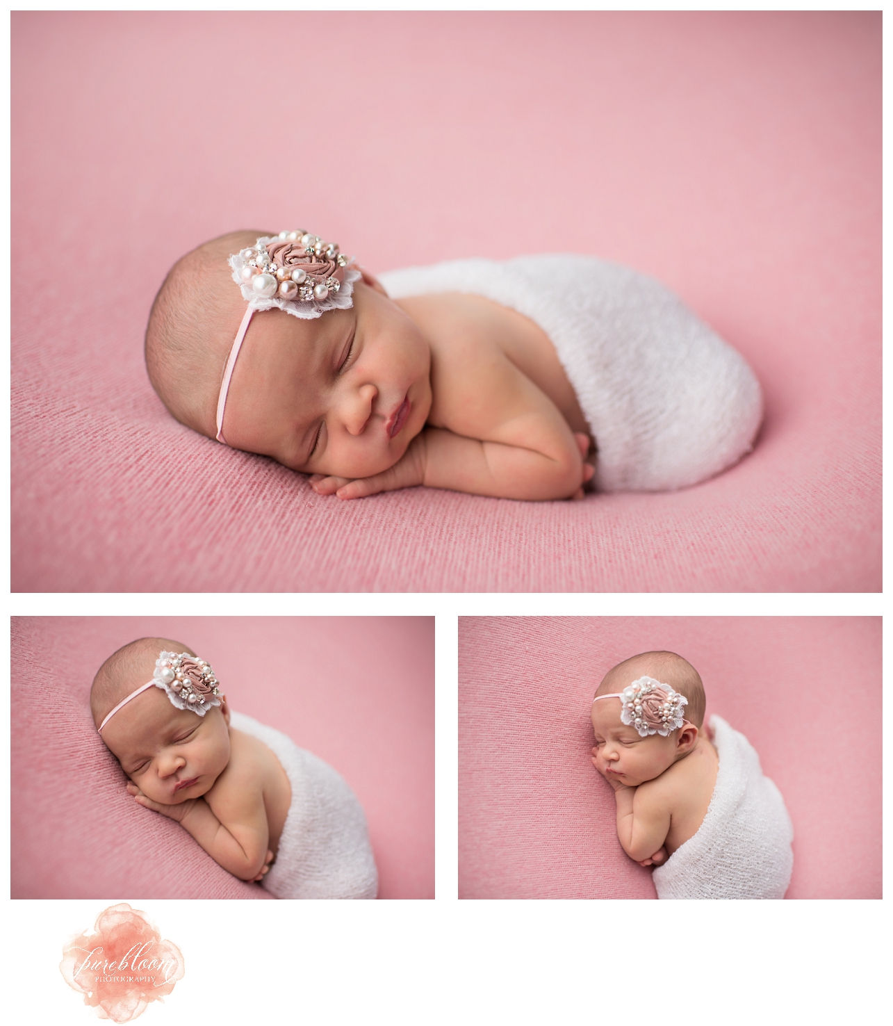 Baby Cora  | Tampa Newborn Photographer | Pure Bloom Photography