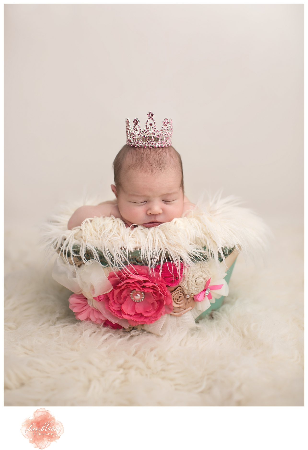 Tampa Artisic Newborn Photographer-Pure Bloom Photography-Baby Annesley