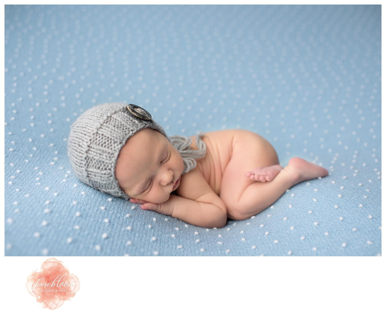 Tampa Artistic Newborn Photographer | Baby Charlie | Pure Bloom Photography