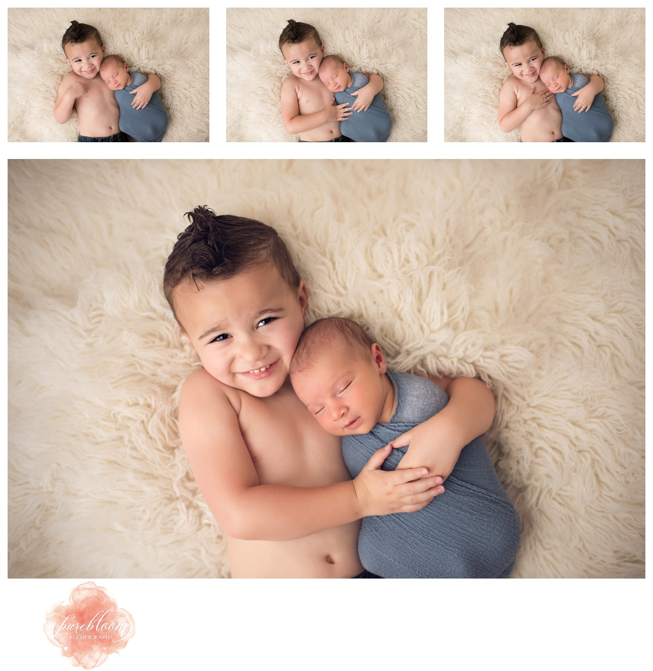 Tampa Artistic Newborn Photographer | Baby Benjamin | Pure Bloom Photography